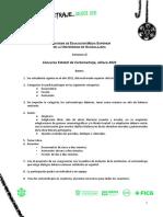 Convocatoria Concurso Estatal Cortometraje Jalisco 2021