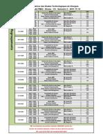 Planing tutorat et regroupement FC PME2 2020 2021