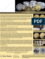 Islamic Gold dinar Flyer - by Dinar Wakala LLC