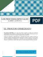 SEMANA 8 - EL PROCESO INMEDIATO