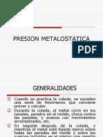 PRESION METALOSTATICA