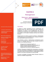 MASTER-Management (M2 AE)