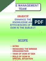 Bridge team