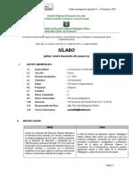 Sílabo de investigación aplicada IV -COMPUTO  VIII