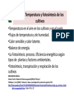 Tema 3 Temperatura y fotosintesis de los cultivos.Alumnos