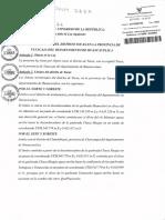 Proyecto de ley de creación del distrito de Tocas aprobado por el Congreso