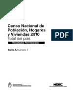 Censo 2010 Resultados Parciales
