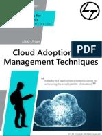 LTCC-IT-001 Cloud Adoption and Management Techniques