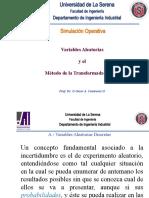7.- VA Discretas Contínuas y Método Transformada Inversa