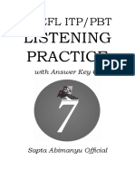 TOEFL ITP PBT LISTENING PRACTICE (WITH ANSWER KEY) _2
