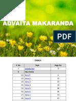 01-Advaita-Makaranda-Versewise