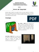 PROGRAMACION ESTRUCTURADA - HISTORIA DE COMPUTADOR
