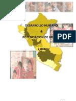 Desarrollo humano y potenciación de género 2008