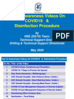Top 12 Covid19 Awarness Videos-hse d&Ts-r1