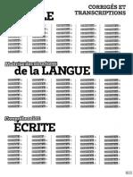 AbcTCF Corriges et transcriptions