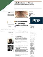 Business Model de l'élevage de volailles en Afrique.pdf