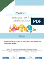 Cours Communication Marketing  Chapitre 1