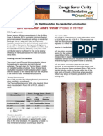 Cavity Wall Insulation Brochure BuildersAGI