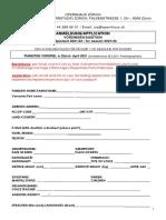 Zurich Opera House 2021-2022 Young Artist Studio Application