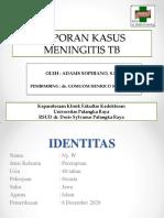 Lapsus Adams Sophiano _ MENINGITIS TB