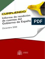 Informe Rendición de Cuentas Gobierno 2020