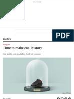 Killing Coal - Time to Make Coal History _ Leaders _ the Economist