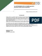 Resumen Planes 2011