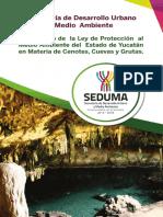 Reglamento de la Ley de Protección de medio ambiente del estado de Yucatán en materia de Cenotes, cuevas y Grutas