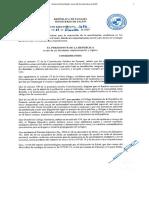 Decreto N°1686 - Gaceta Oficial - Panamá