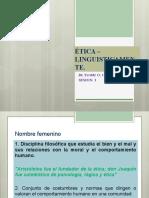 SESION 1  ETICA LINGUISTICAMENTE.pptx