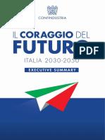 Il+Coraggio+Del+Futuro+2020 Executive+Summary