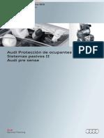 605 - Audi Protección de Ocupantes. Sistemas Pasivos II - Audi Pre Sense