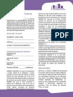 CONTRATO DE APERTURA DE CRÉDITO FINANCIERA ANDINA S.A  (1)