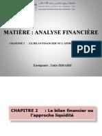 Chapitre 2 - Le Bilan Financier Ou l'Approche Liquidité