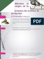 Modélisation et Typologies de la performance des systèmes PART0