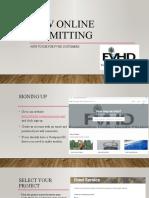 new online permitting