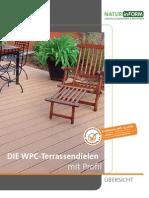 Natur in Form WPC Terrassendielen