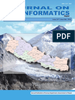Nepalese Journal on Geo-informatics Number 19