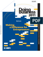 Bahrain Doing Business 2011_ Making a Difference for Entrepreneurs by World Bank-