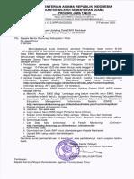 Surat Kanwil-Pemberitahuan Updating Data EMIS Madrasah Semester Genap TP 19-20