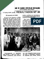 CXEB (Folha de Resultados 39)