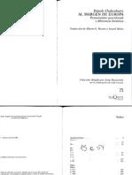 Chackrabarty - Prefacio e Introducción La idea de provincializar Europa - Al margen de Europa pp 15-54.pdf
