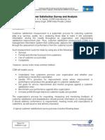 PB 6-5 Customer Satisfaction Survey and Analysis