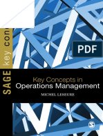 Key Concepts in Operations Management by Michel Leseure