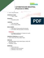 GIGAelectric CURSO DE AUTOMATIZACION INDUSTRIAL