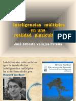 José Ernesto Vallejos Pereira, Inteligencias Múltiples en Una Realidad Pluricultural