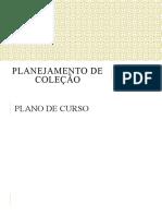 Planejamento de coleção AULA 1