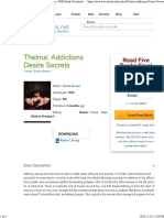 Thelma_ Addictions Desire Secrets, by Dante Vereen_ FREE Book Download