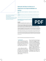 2016 application of diose laser in the treatment of dentine hypersensitivity.en.es