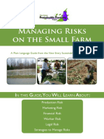 Managing Risks on the Small Farm